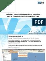 Guía para inspección de puertos en los radios.ppt
