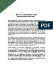 EU a Christain Club