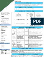 1 PAGE CV