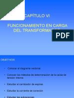Cap VI Transformador en Carga. Presentación
