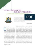 Relaciones entre ciencia y religión