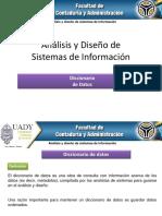 El Proceso Del Analisis - Diccionario de Datos