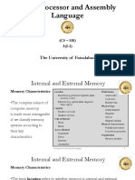 8. Microprocessor and Assembly Language