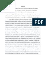 Spanish Sci Fi Exam 1