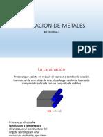 Laminacion de Metales - PowerPoint