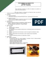 1.4.-Procedimiento Camara de Vacio