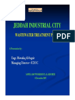 Rehabilitation of Jeddah Industrial Wastewater Plant