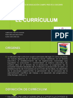 El Currículum