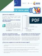 Estudio sobre analgésicos en Colombia