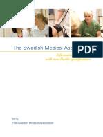 Swedish Medical Association Lakarforbundet Utomnordisk Examen Eng