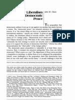 T Owen 1994 is Democratic Peace Stability Mechanisms