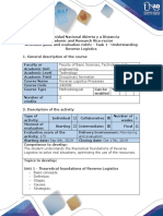 Activity Guide and Evaluation Rubric - Task 1 - Understanding Revere Logistics Processes