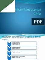 Pelatihan Penyusunan CAPA