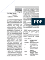 DS 019-2019 Modifica DS 001-2006 Reglamento Homologación