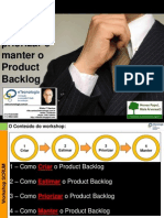 Workshop Como Criar, Estimar, Priorizar e Manter o Product Backlog