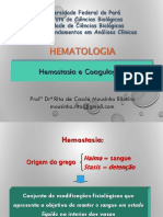 2a Aula - Plaquetas, Hemostasia e Coagulação (24.06.19)