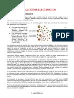 Disociación de Electrolitos (1)