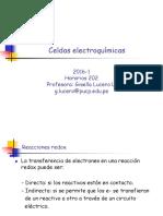 Celdas Electroquímicas 2016-1