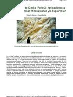 Aplicaciones Al Estudio de Sistemas Mineralizados y La(1)