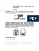 5.1 Uniones Temporales (Remachadas, Atornilladas, Etc)