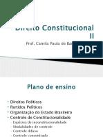 Direito Constitucional II- Introdução
