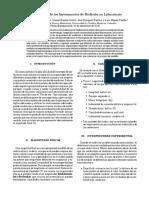 1 - Laboratorio - Instrumentos de Medición