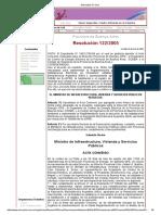 Resolución MIVySP 122-2005 Prov Buenos Aires