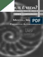 O que e a vida_ - Erwin Schrodinger.pdf