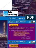 Data Driven Argentina - Industry Brief Report