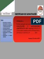 Certificado de Capacitación Fentase 2019.Docxsa