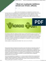 Como Hacer Root en Cualquier Teléfono o Tableta Android Con Vroot