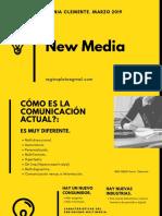 New Media Sonia Clemente