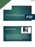 Aula Imunohematologia