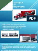 Conduccion Especifica de Remolques o Semirremolques (Trailers