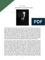 Julius Evola - Das Hakenkreuz Als Polares Symbol