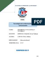 Monografia Tecnología de La Información y Comunicación