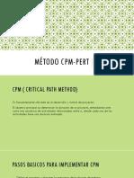 Método Cpm Pert