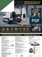 Ft Ram Promaster Rapid 2019