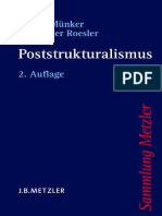 [Sammlung Metzler] Stefan Münker, Alexander Roesler (Auth.) - Poststrukturalismus (2012, J.B. Metzler)