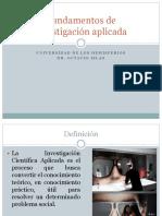 investigaciocc81n-aplicada