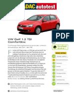 VW Golf 1 2 TSI Comfortline