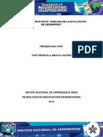 Evidencia 7 Propuesta Analisis de La Evaluacion de Desempeno