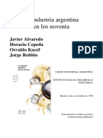 La industria argentina en los noventa