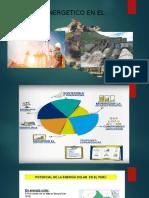 Potencial Energetico en El Perú 1