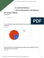 Encuesta Sobre Característica y Mejoramiento de La Educación Colombiana en Zonas Rulares-graficos