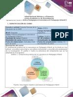 Syllabus del curso Práctica pedagógica Licenciatura en Pedagogía Infantil  1