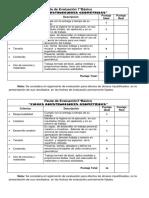 Pauta de evaluacion fichas  7°