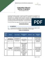 Edital Concurso Publico Araraquara 2019