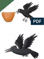 El Cuervo y La Vasija Cuadrorama Grande