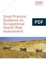 Good Practice Guidance on Occupational H